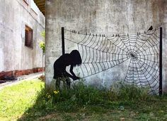 Pejac - poetic Street Art
