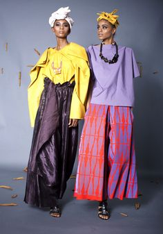 M'ba M'etta is the latest collection by Nyorh Agwe,a woman's lifestyle brand that reflects cultural experiences of an African girl African Inspired Fashion, African Men Fashion, Womens Fashion, African Women, African Attire, African Dress, Ethnic Chic, Dressed To The Nines, African Fabric