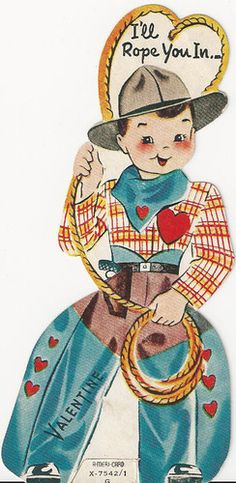 I'll rope you in! Happy Valentine's Day!