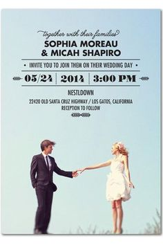 Photo 8- 10 Crazy-Cool Wedding Invitations To Start Your Planning Right