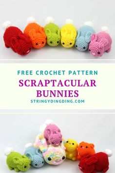 Try out these quick, easy, and fun crochet bunnies - - Free amigurumi bunnies crochet pattern. Come see this adorable crochet bunny pattern - it's easy, fun, and you can finish it in under an hour. Crochet Diy, Crochet Easter, Crochet Unique, Crochet Simple, Easter Crochet Patterns, Crochet Amigurumi Free Patterns, Crochet Crafts, Crochet Dolls, Crochet Rabbit Free Pattern