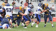 Anthony Shkuratov scored 3 TDs to lead South San Francisco to a 43-39 win over Menlo.