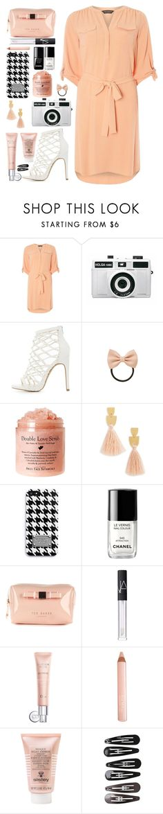 """""""and now you're pretending to be something you can never be"""" by pepperxnostalgia ❤ liked on Polyvore featuring Dorothy Perkins, Holga, Charlotte Russe, Topshop, Madewell, MICHAEL Michael Kors, Chanel, le top, Ted Baker and NARS Cosmetics"""