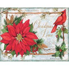 Susan Winget-Cardinal Christmas In X In Assorted Boxed Christmas Cards Boxed Christmas Cards, Homemade Christmas Cards, Christmas Scenes, Christmas Printables, Xmas Cards, Christmas Art, Christmas Greetings, Homemade Cards, Handmade Christmas