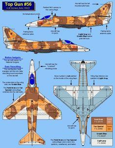 """A4-E Skyhawk """"Top Gun"""""""