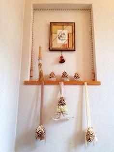 2014年クリスマスフェア 松笠のオブジェです。 ***フェルメール パッサマネリア ~京都 下鴨のタッセル専門店~ http://blog.livedoor.jp/passamaneriavermeer/