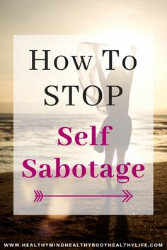 """""""If at our core we believe we are not worthy of success, it can actually increase our levels of unworthiness if we succeed"""".What is self sabotage and how it leads to anxiety and failure. How to recognize and stop self sabotaging behaviors and thoughts Self Development, Personal Development, Development Quotes, Leadership Development, Communication Skills, Coping With Depression, What Is Self, Challenge, Thing 1"""