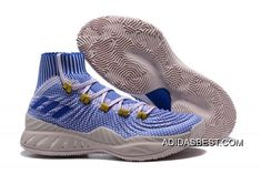 check out 97ffc 68a90 Adidas Crazy Explosive Primeknit White Blue Shoes Porzingis New Style,  Price 102.25 - Best adidas Shoes Online Store