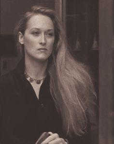 "Meryl Streep in Woody Allen's ""Manhattan"", 1979."