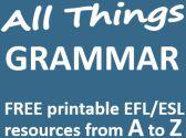 Some English grammar resources