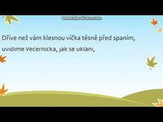 Karel Černoch - Večerníček TEXT - YouTube