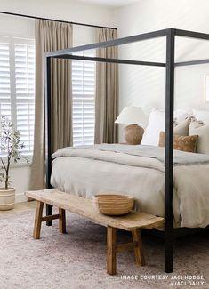 Bedroom Inspo, Home Bedroom, Adult Bedroom Decor, Apartment Master Bedroom, Master Bedroom Interior, Apartment Decoration, Suites, Beautiful Bedrooms, Interiores Design