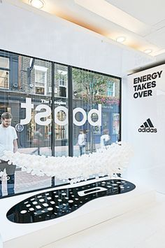 Adidas BOOST Experience Pop-Up on Carnaby Street - by Size?