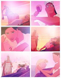 Disney 30 Day Challenge: Bravest Heroine = Pocohontas I've always thought she was so brave in this part Disney Pocahontas, Disney Princesses, Disney Love, Disney Magic, Disney And Dreamworks, Disney Pixar, Pocahontas And John Smith, Walt Disney Pictures Movies, Walter Elias Disney