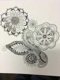 Zen doodle 1