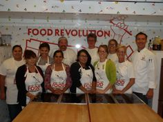 Fresno Food Champions at their Learn to Teach Graduation