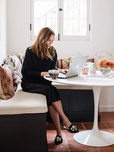 Let Your Boss Know: Working From Home Can Make You More Productive – Work from home outfit Amazon Work From Home, Work From Home Moms, Home Websites, Own Business Ideas, Cosy Outfit, Work From Home Opportunities, Grey Kitchens, Home Office Decor, Executive Office Decor