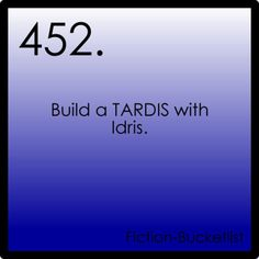 Build a TARDIS with Idris. - Doctor Who