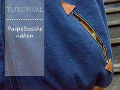 Ich möchte dir hier zeigen wie du eine Paspeltasche in eine Jacke einnähen kannst. Das ist im Grunde gar nicht schwer, wenn du Schritt für Schritt vorgehst. Um Paspeltaschen in… Weiterlesen
