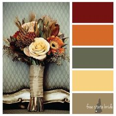 Traditional Fall Inspired Wedding Colors - ✨ Anna's wedding ✨ - Rustic Wedding Colors, Rustic Colors, Fall Wedding Colors, Spring Wedding, Elegant Wedding, Wedding Flowers, Autumn Inspiration, Wedding Inspiration, Inspiration Boards
