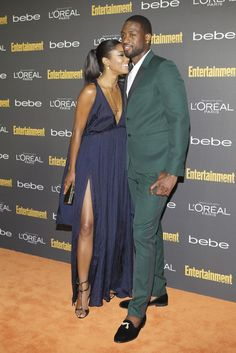 Gabrielle Union and Dwyane Wade at the Entertainment Weekly party. [Photo by Katie Jones]