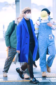 [AIRPORT] 161205: BTS V (Kim Taehyung) ft. Rap Monster #bangtan #bangtanboys #bts #fashion #kfashion #kstyle #korean #kpop
