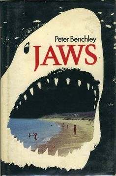 JAWS - UK First Edition 1974 Peter Benchley published by Andre Deutsch London Book Cover Art, Book Cover Design, Book Art, Pet Sematary, Vintage Book Covers, Vintage Books, Peter Benchley, Buch Design, Horror Fiction