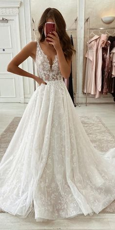 gorgeous gowns Purchase Gorgeous Ball Gown Scoop Neck Open Back Lace Wedding Dresses,Luxurious Wedding wedding dresses, bridal gowns, wedding party dresses, beach wedding d Pretty Dresses, Beautiful Dresses, Most Beautiful Wedding Dresses, Cute Lace Dresses, Stunning Prom Dresses, Deb Dresses, Elegant Gowns, Beautiful Dream, Formal Gowns