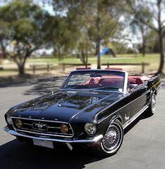 1967 convertible Mustan....just beautiful