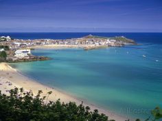 Porthminster Beach, St. Ives, Cornwal, England Photographic Print by Gavin Hellier - AllPosters.co.uk