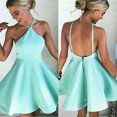 Lovely mint green homecoming dress,short prom dress for teens sold by Dreamy Dress. Shop more products from Dreamy Dress on Storenvy, the home of independent small businesses all over the world. Mint Homecoming Dresses, Prom Dresses For Teens, Backless Prom Dresses, Hoco Dresses, Cheap Dresses, Cute Dresses, Prom Gowns, Graduation Dresses, Party Dresses