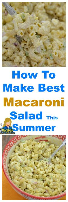 How To Make Best Macaroni Salad For Summer