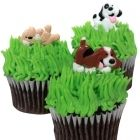 Puppy Party Cupcake Decorating Picks (12)