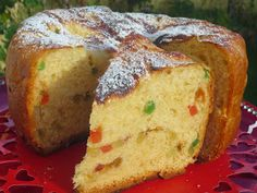 Panettone Ana Sevilla olla GM Italian Desserts, Dried Fruit, Ms Gs, Banana Bread, Good Food, Pie, Baking, Sweet, Recipes