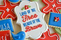Lizy B: Fourth of July Cookies!
