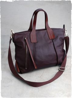 Leather Metro Bag