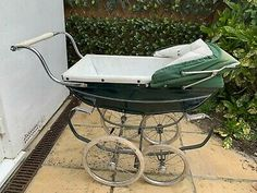 """silver cross childs pram in need a very little TLC. Condition is """"Used"""". everything is working Dolls Prams, Wheelbarrow, Baby Strollers, Im Not Perfect, Children, Silver, Ebay, Baby Prams, Young Children"""