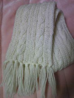 braided scarf pattern