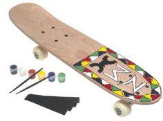Design Your Own Real Skateboard Kit --- http://www.amazon.com/Design-Your-Own-Real-Skateboard/dp/B00005CDP1/ref=sr_1_28/?tag=telexintertel-20
