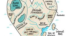 An Adorable Map To An Introvert Heart