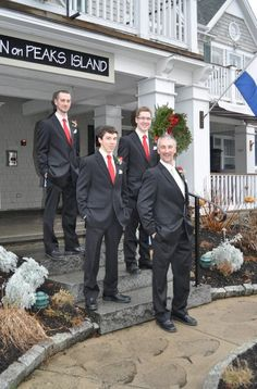Step father & brothers at the wedding