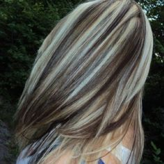 Thinking of doing some highlights again soon. I can never be satisfied.. always wanting to do something different with my hair.
