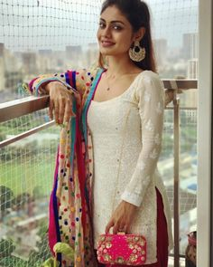 Sreejita De the Beautiful Indian Actress. Churidar Designs, Kurta Designs Women, Dress Indian Style, Indian Outfits, Indian Clothes, Long Gown Dress, Indian Designer Suits, Indian Gowns Dresses, Dress Neck Designs
