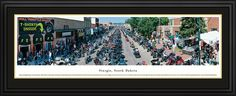 Sturgis, SD City Skyline Panoramic Pictures & Posters