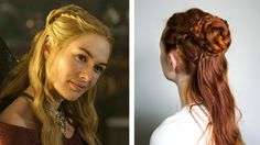 Game of Thrones Hair - Cersei Lannister