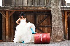 Calgary Stampede Inspired Western Wedding