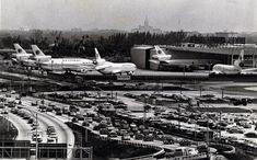 Midway Airport, Miami Airport, Old Florida, Miami Florida, Miami Images, National Airlines, Civil Aviation, Historical Photos, Alaska
