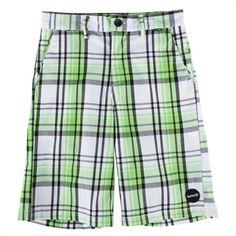 Hurley Boys Ryder Plaid Shorts