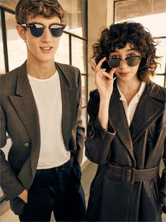 Ray-Ban's Clubmaster sunglasses receive a retro update with the brand's Reloaded series.
