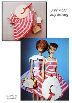 Barbie Sewing Pattern - Busy Morning Dress by Aileen's Petite Fashions